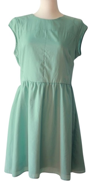 Preload https://item2.tradesy.com/images/mossimo-supply-co-turquoise-fit-and-flare-knee-length-short-casual-dress-size-16-xl-plus-0x-4261501-0-2.jpg?width=400&height=650