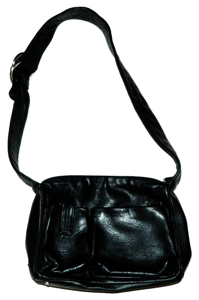 Perlina Leather Shoulder Bag