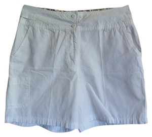 Bill Blass Cargo Shorts White