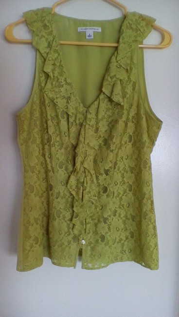 Banana Republic Button Down Shirt yellowgreen