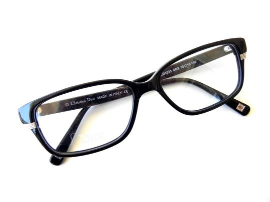 Dior New CHRISTIAN DIOR Eyeglasses Black with Case