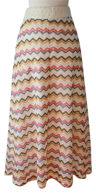 Preload https://item4.tradesy.com/images/orange-yellow-brown-cream-chevron-maxi-skirt-size-14-l-34-4261798-0-0.jpg?width=400&height=650