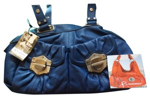B. Makowsky Satchel in Cobalt Blue