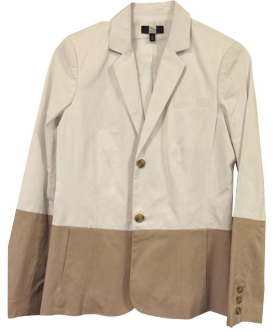 Saks Fifth Avenue White Blazer