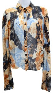 Escada Silk Blouse Button Down Shirt
