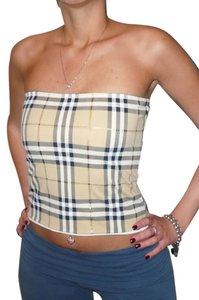Burberry Burberry classic check with gold tube top fits small-medium