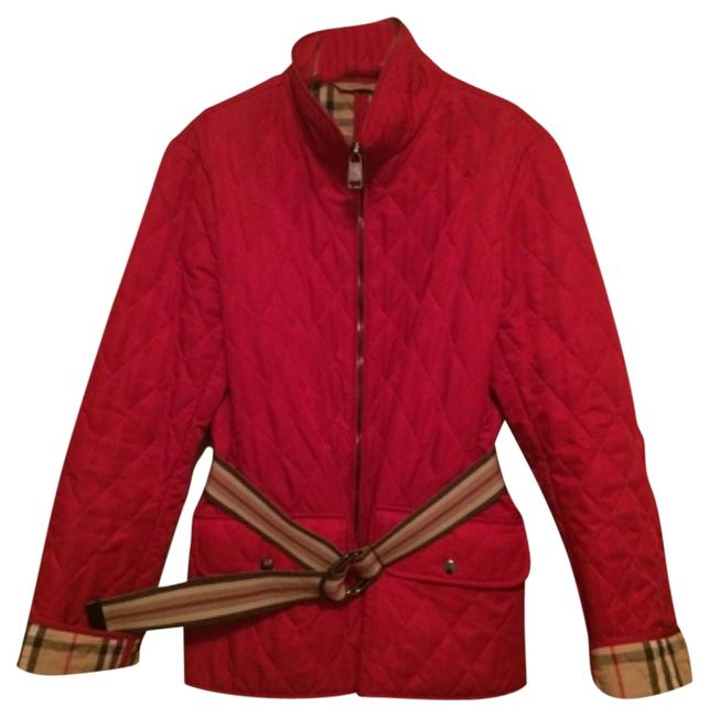 Preload https://item5.tradesy.com/images/burberry-london-red-quilted-spring-jacket-size-12-l-4262554-0-1.jpg?width=400&height=650