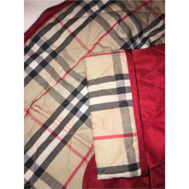 Burberry London Red Jacket