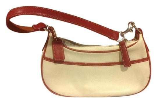 Coach Leather Small Tan Hobo Bag