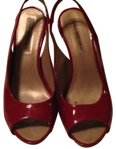 Via Spiga Red patent leather Wedges