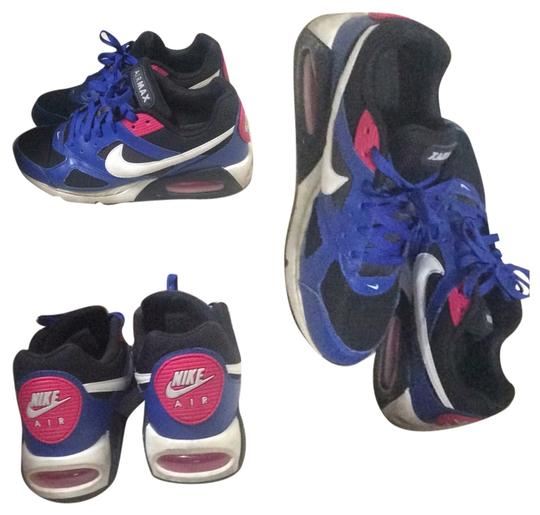 Preload https://item4.tradesy.com/images/nike-black-blue-and-hot-pink-sneakers-size-us-10-regular-m-b-4262983-0-0.jpg?width=440&height=440