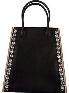 Marni Tote in Black Pearl/Grey
