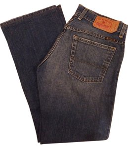Lucky Brand Denim Button Fly Boot Cut Jeans-Medium Wash