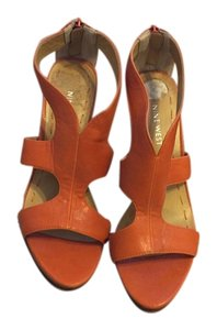 Nine West Orange Sandals