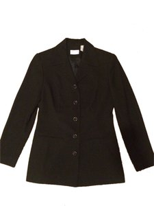 Preview Collection Suit Jacket Button Up Black Blazer