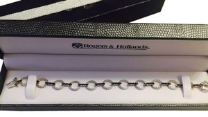 Rogers and Hollands Rogers and Hollands Black Sapphire and Diamond Bracelet
