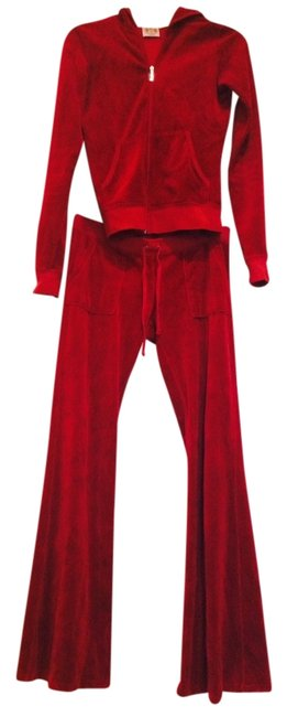 Item - Ruby Red Jump Pant Suit Size 4 (S)