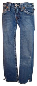 True Religion 10 531 (kate) Kate Capri Rn# 112790 Ca# 30427 Kate Cropped Capri/Cropped Denim-Distressed
