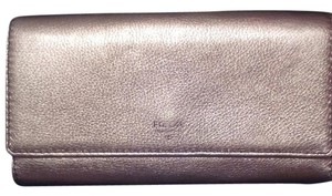 Fossil FOSSIL-GOLD LEATHER WALLET