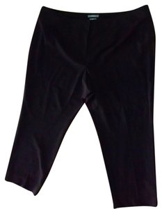 Liz Claiborne Dress Size 24w Plus Size 24 Straight Leg P1508 Trouser Pants black