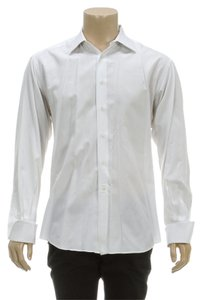 Ermenegildo Zegna Button Down Shirt White