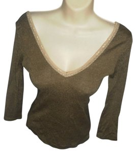 Michael Stars V Neck Designer Club Party Sweater
