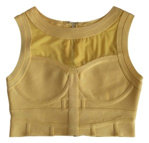 House of CB Top Yellow