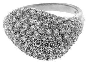 Other BRAND NEW, Ladies 18K White Gold Diamond Cocktail Ring