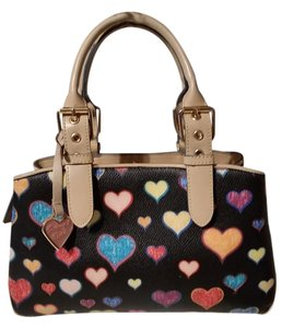Dooney & Bourke Satchel in Black multi