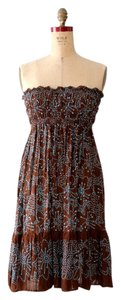 CoolChange short dress Brown Batik Beach on Tradesy