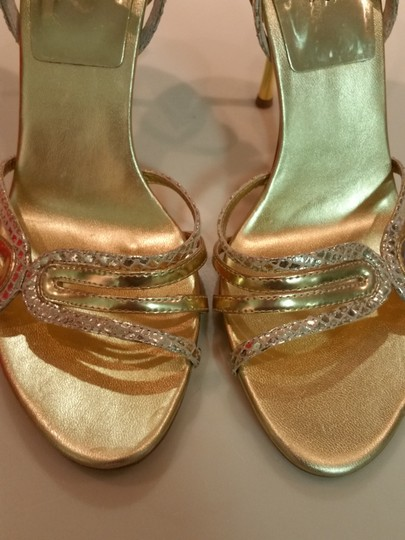 Guess By Marciano Heels Strap Heels Sexy Strap Heels Gold Formal