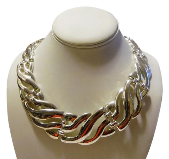 Other Silvertone 21 Inch Statement Necklace