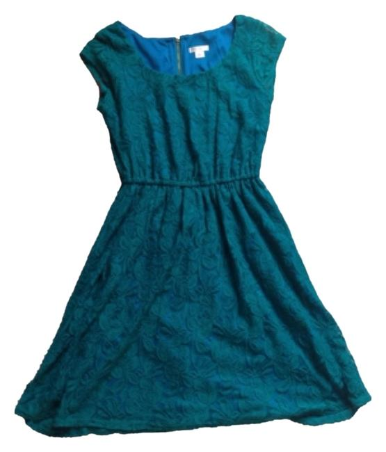 Other short dress Dark Green on Tradesy