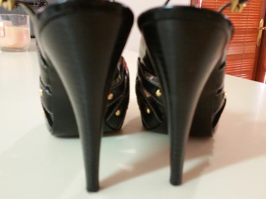 Guess By Marciano Sexy Heels Day Or Night Heels Sexy Peep Toe Heels Black Patent Leather Pumps