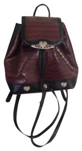 Looks like Brighton Faux Leather Preppy Backpack