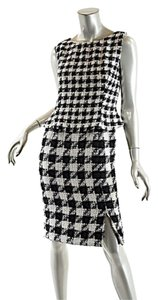 Douglas Hannant short dress Black & White Houndstooth on Tradesy
