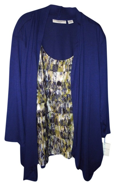 Preload https://item5.tradesy.com/images/sag-harbor-blue-and-multi-f134922-tunic-size-26-plus-3x-4270159-0-0.jpg?width=400&height=650