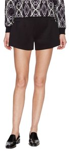 Steve J & Yoni P Gold Hardware And Dress Shorts Black