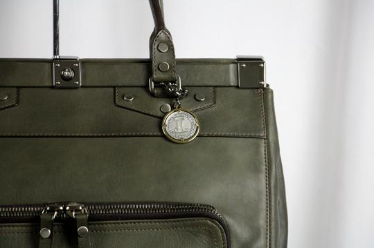 Lanvin Leather Luxury Tote in Green
