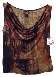Clara Sunwoo Top brown multi