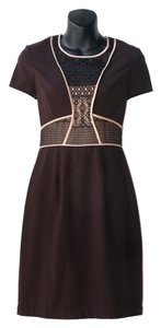 BCBGMAXAZRIA Hourglass Office Lace Dress