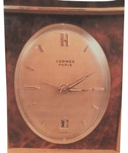 Hermès Hermes Travel Clock / Night Stand Clock