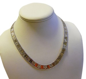 Technibond Technibond 18 Inch Platinum Plated High Polish Mesh Necklace