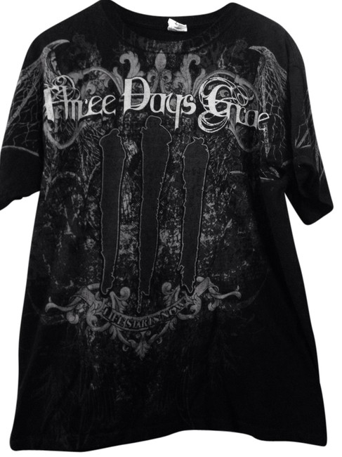 Three Days Grace T Shirt Black