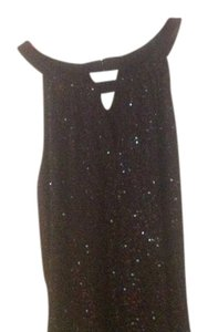 INC International Concepts Sequin Top black w/sequins
