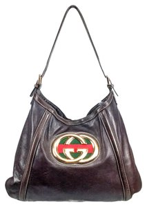 Gucci Tote in Brown w/ Black Interior