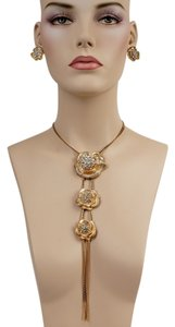 Other Gold Roses Necklase