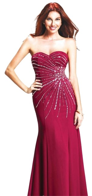 Preload https://item1.tradesy.com/images/red-colors-0220-long-formal-dress-size-10-m-4272655-0-0.jpg?width=400&height=650