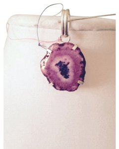 Other Embellished by Leecia Solar Geode Pendant