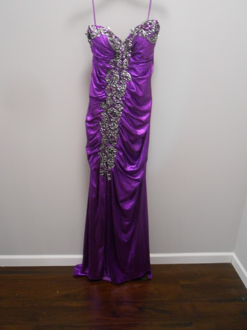 Item - Purple Flirt By Long Formal Dress Size 14 (L)
